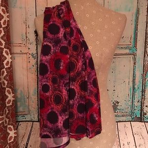 LULAROE~Circle Print~MAXI A-line Skirt~XS